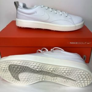 Nike Course Classic White Golf Shoes New In Box